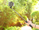 Universal monopod selfie stick for smart phone