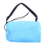Inflatable beach lounger lazy bag