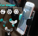 360 degree car air vent smart phone holder