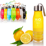H2O fruit juice infusion water bottle