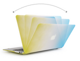 Silicone rainbow cover case for MacBook laptops