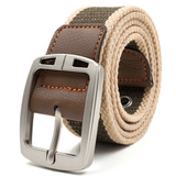 Military style casual belt for men