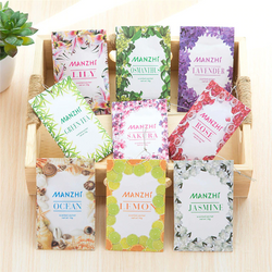 Set of 9 scented sachets for wardrobes