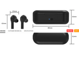 Wireless bluetooth V5.0 stereo surround headset