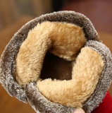 Warm winter boots for children