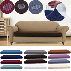 Water repellent sofa seat cushion cover