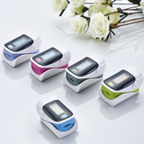 Fingertip clip-on heart rate monitor & oximeter