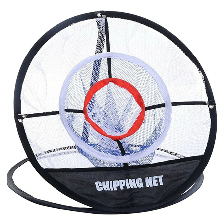 Portable golf chipping net