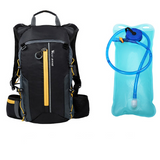 Ultralight waterproof backpack with optional water bag