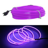 Flexible car interior lighting LED strip