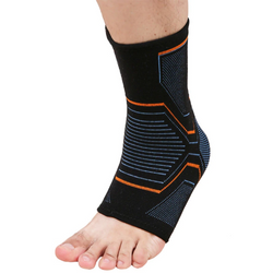 Breathable ankle support sleeve brace