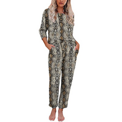 Long sleeve pajama homewear set
