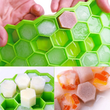 Honeycomb ice tray with lid (optional)