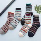 5 pairs of winter style socks
