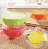 Re-usable silicone food covers