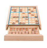 Wooden sudoku game