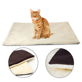 Super soft self heating cat & dog blanket pet bed