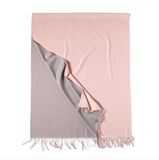 Double sided pashmina scarf