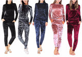 Velvet bodycon sweatsuit