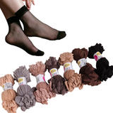 Thin tights stocking style ankle socks