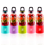 Electric juicer bottle