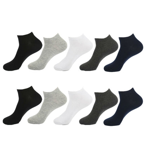 5 pairs of ankle socks for men