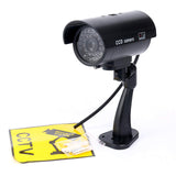 Simulation dummy LED flash security camera