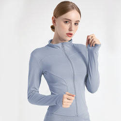 Quick dry sports fitness jacket for women