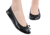 After party foldable ballerina flat shoes