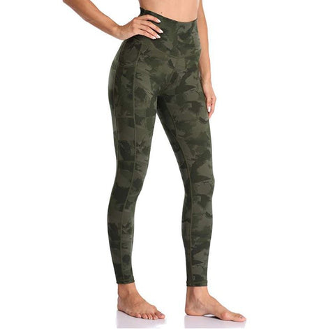 High waist fitness legging with pocket