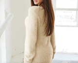 Furry o-neck sweater