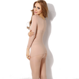 Elastic ultra-thin thermal underwear for women