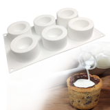 Hollow silicone baking tray mould