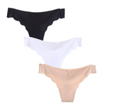 Basic thong panties 3 pack