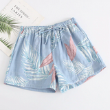 Pajama shorts for women