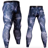 Fitness compression sweatpants for men