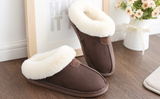 Home plush slippers