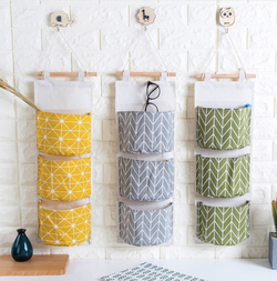 Multilayer hanging storage bag rack
