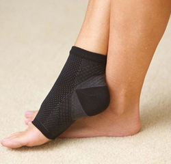Open-toe compression socks