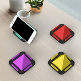 Pyramid car stand for smart phones