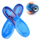 Silicone gel shoe inserts