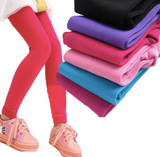 2 pairs of warm leggings for kids