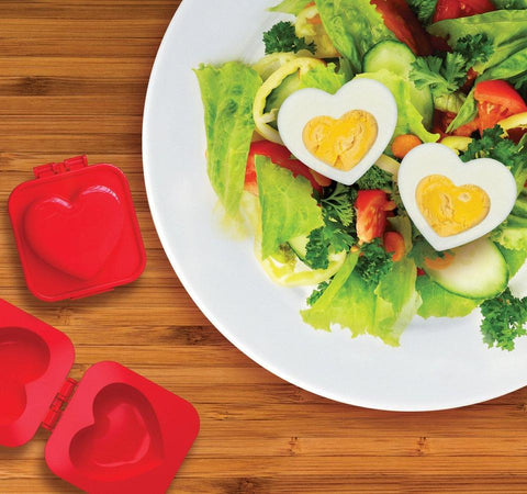 Heart shaped boiled egg-ceptional mould