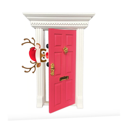 Christmas elf mini fairy door