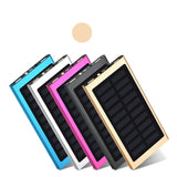 20000 mAh LED backlight solar power bank