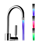 LED colourful water kitcen faucet top