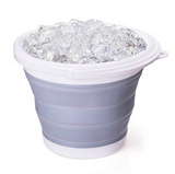 Large capacity folding bucket