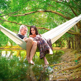 Outdoor canvas hammock