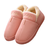 Plush soft slippers