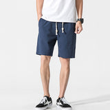 Casual cotton shorts for men